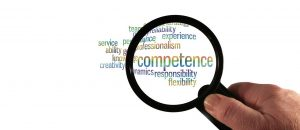 competence, experience, hand